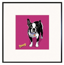 Boston Terrier Art