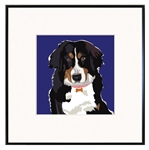 Bernese Mountain Dog Art