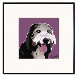 Bearded Collie Art