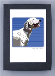 English Setter Grrreen Box Notes