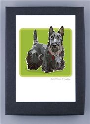 Scottish Terrier Grrreen Box Notes