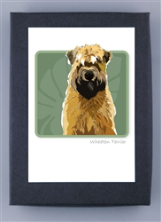 Wheaten Terrier Grrreen Box Notes