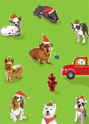 Dogs Holiday Card