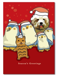 Animal Holiday Card