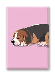 Beagle, Puppy Fridge Magnet