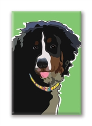 Bernese Mountain Dog Fridge Magnet