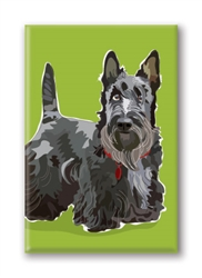 Scottish Terrier Fridge Magnet