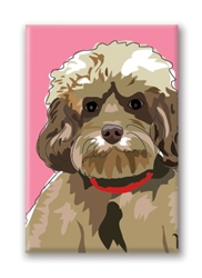 Cockapoo Fridge Magnet