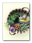 Vegetable Basket Card