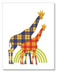 Two Giraffes Card