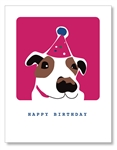Dog Birthday Hat Cards