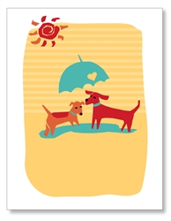 Dogs Parasal Cards