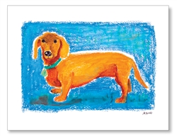 Dachshund Card