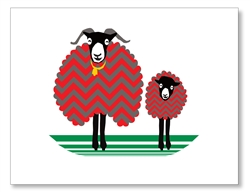 Two Sheep Cards