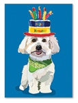Coton Birthday Card