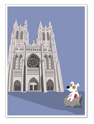 DC, National Cathedral: Blank Inside (1 card)
