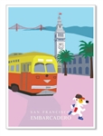 SF, Embarcadero: Blank Inside (1 card)