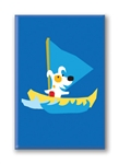 Rocket Sailing: Fridge Magnet (1 QT)