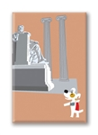 DC, Lincoln Memorial: Fridge Magnet (1 QT)
