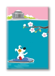 DC, Jefferson Memorial: Fridge Magnet (1 QT)