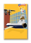 DC, Air and Space Museum: Fridge Magnet (1 QT)
