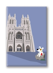 DC, National Cathedral, Fridge Magnet (1 QT)