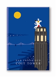 SF, Coit Tower: Fridge Magnet (NEW) (1 QT)