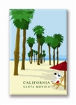 Santa Monica Beach: Fridge Magnet (NEW) (1 QT)