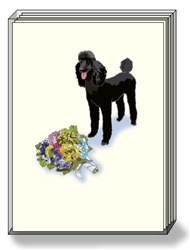 Poodle Note Cards