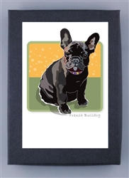 French Bulldog, Black Grrreen Box Notes