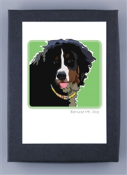 Bernese Mountain Dog Grrreen Box Notes