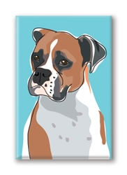 Boxer Fridge Magnet