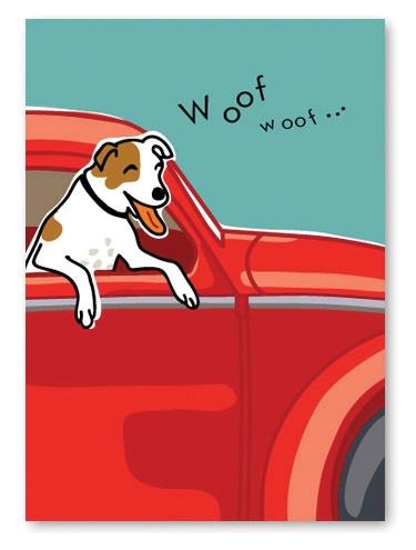 Jack Russell Terrier Birthday Card