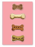 Dog Treat Greeting Card