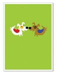 "Greeting Card: ""I'm lucky to have a friend like you...Happy Birthday!"" (inside)(1 card)"