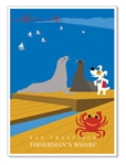 SF: Fisherman's Wharf: Blank Inside (1 card)