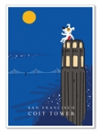 SF: Coit Tower: Blank Inside (1 card)