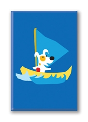 Fridge Magnet: Sailing (1 QT)