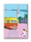 SF: Embarcadero: Fridge Magnet (NEW) (1 QT)