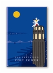 SF: Coit Tower: Fridge Magnet (NEW) (1 QT)