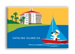 Catalina Bay Casino Fridge Magnet