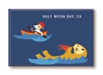 HMB_Kayak & Otter Fridge Magnet