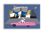 LA_DisneyHall Fridge Magnet