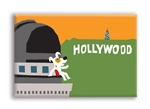 LA_Hollywood Observatory Fridge Magnet