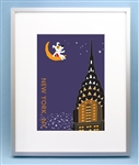 Rocket on top of Chrysler Building Art Picture, New York City