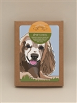 Cocker Spaniel, Brown TeaTowel